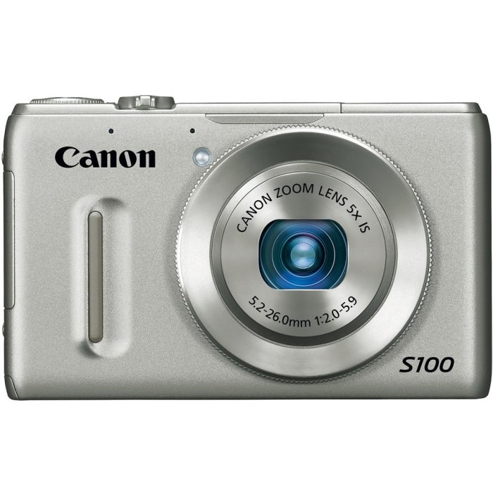 Canon PowerShot S100 Cherie's primary camera is this wonderful point-n-shoot from Canon. We use this for most our photos and video.