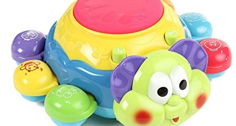 Mee Mee Colorful Bubbly Beetle Musical Toy