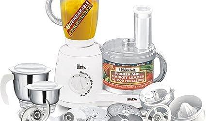 Inalsa Wonder Maxie Plus 700-Watt Food Processor