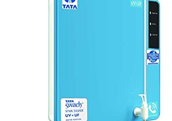 Tata Swach Viva Silver UV+UF Wall Mounted 6-LitreWater Purifier