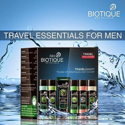 Biotique Bio Travel Exclusive Kit Men