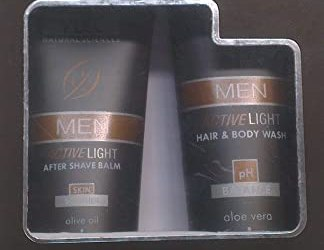 VLCC Mez Hair and Body Wash with Free Mens Active After Shave Gel