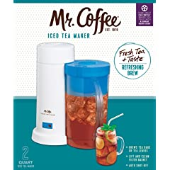 Mr. Coffee 2-Quart Iced Tea Maker TM1