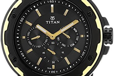 Titan 1654KM05 Black Dial Men's Analog Watch