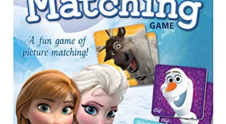 The Wonder Forge Disney Frozen Matching Game