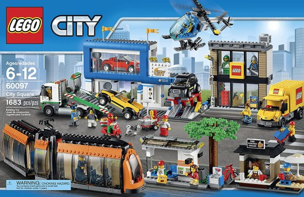 LEGO City 60097 City Square on Amazon