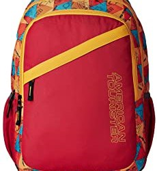 American Tourister Hashtag Red Casual Backpack