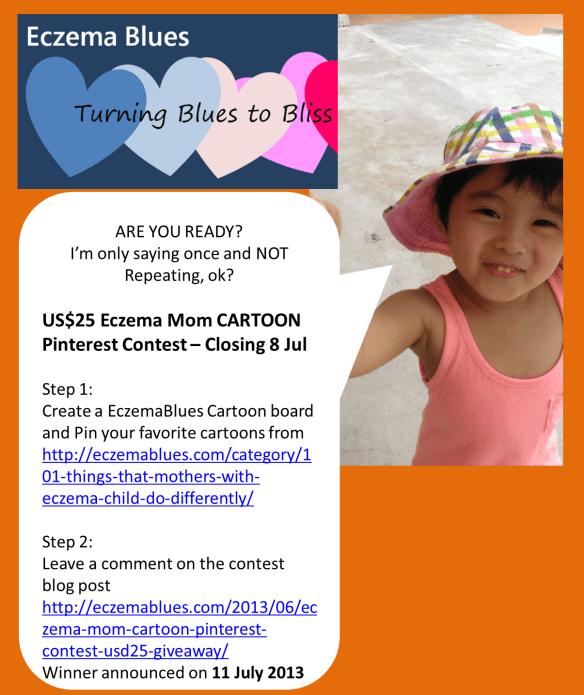 Eczema Blues Pinterest Cartoon Contest