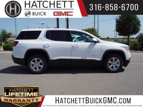 New 2019 GMC Acadia SLE 1 SUV in Wichita  T219016   Hatchett Hyundai     New 2019 GMC Acadia SLE 1
