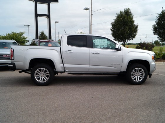 New 2018 GMC Canyon SLT Truck in Wichita  T218007   Hatchett Hyundai     New 2018 GMC Canyon SLT