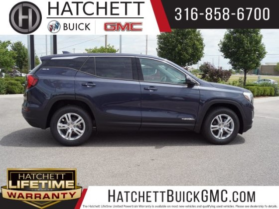 New 2018 GMC Terrain SLE SUV in Wichita  T218421   Hatchett Hyundai     New 2018 GMC Terrain SLE