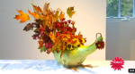 Thanksgiving_Centerpiece_Using_Gourd_Flowers