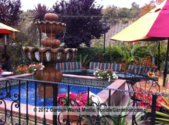 Casa-de-Bandini-outdoor-fountain-in-patio