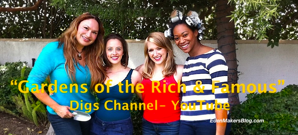 Gardens-of-the-rich-and-famous-cast-shirley-bovshow, ariana siegel, emma tattenbaum-fine for digs channel on youtube