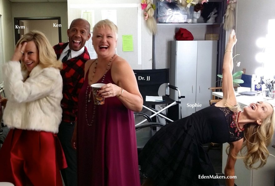 home-and-family-show-hallmark-behind-the-scenes-kym-douglas-ken-wingard-jj-sophie-uliano-green-room-holiday-special-edenmakers-blog