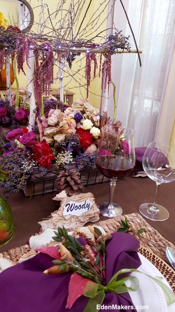 jewel-tone-thanksgiving-centerpiece-arbor-purple-brown-pink-red-dahlias-edenmakers-blog