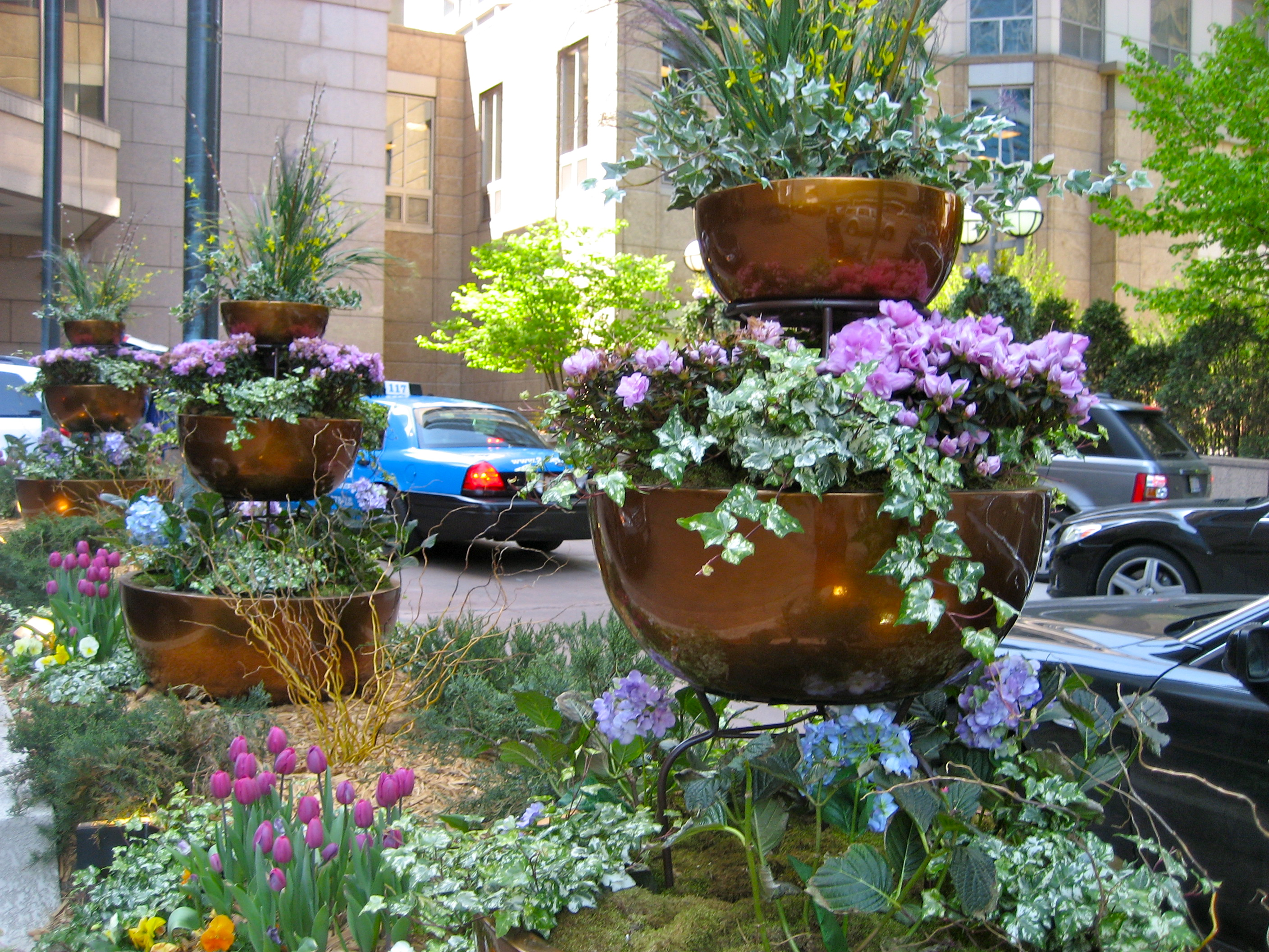 Container Garden Design copper container garden vignette | eden makers blogshirley bovshow