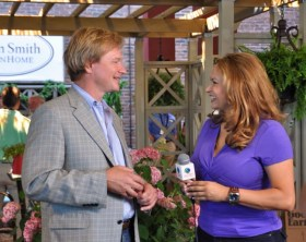 P ALLEN SMITH INTERVIEWED BY SHIRLEY BOVSHOW, GARDEN WORLD REPORT SHOW