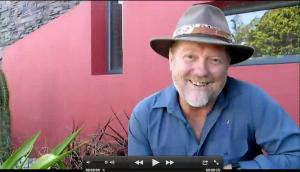 Neville Passmore is a host of Garden Gurus TV show in Australia
