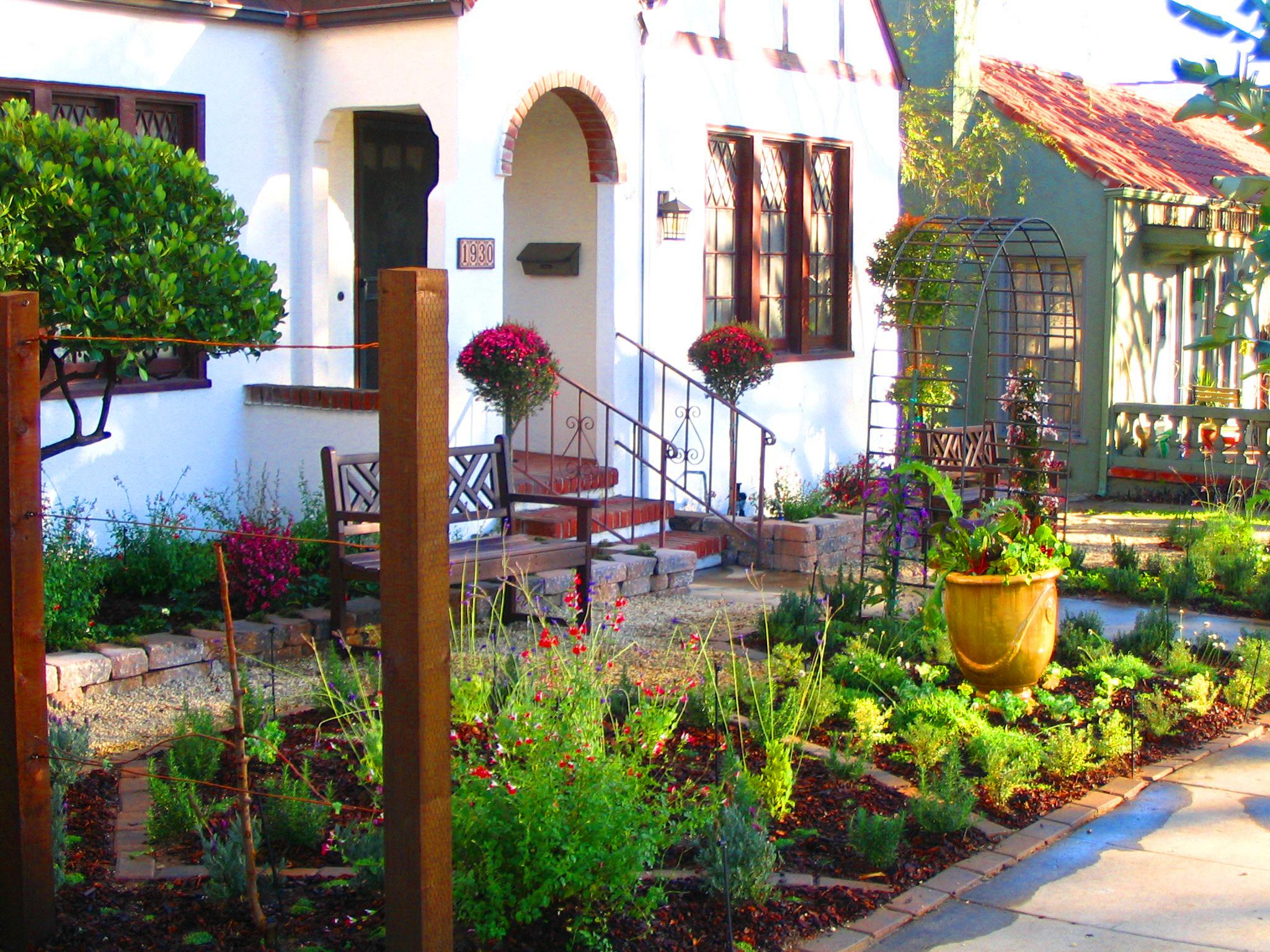 Front Yard Vegetable Garden Makeover | Eden Makers Blog By Shirley Bovshow