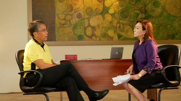 """Mar Roxas on """"Wanted: President"""""""