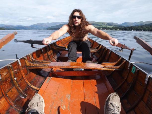 Ed vs Sport Gold Challenge Rowing Lake Windermere