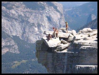 Half Dome in Yosemite, California 2008