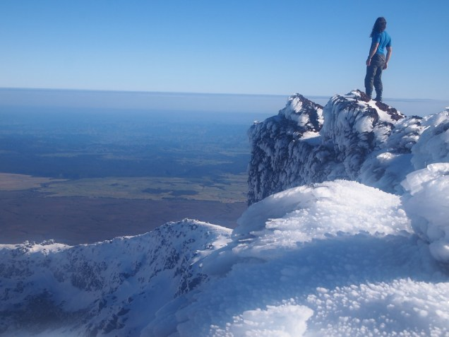 Top of Mount Ngauruhoe, New Zealand
