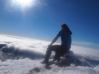 Top of Mount Ngauruhoe, New Zealand