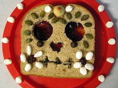 Day of the Dead Sandwich