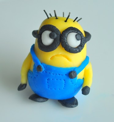 Minion Cake Toppers Edible Crafts