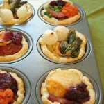 leftover mini pies