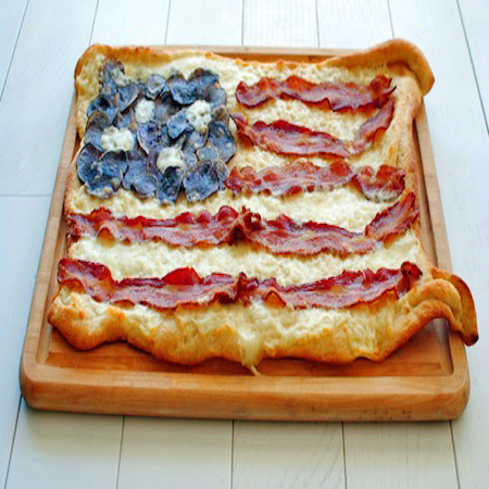 BaconFlagPizza