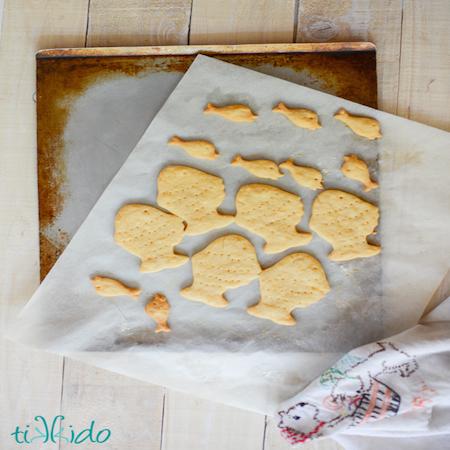 Homemade Goldfish Crackers Tikkido