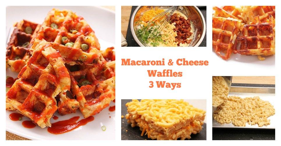 macaroni-cheese-waffles