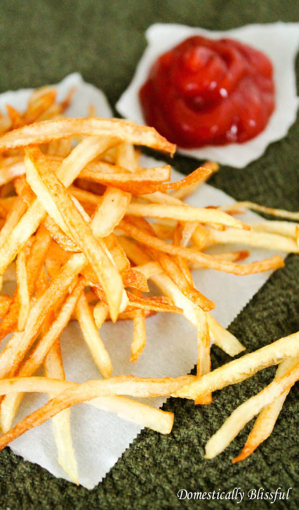 Thin and Crispy French Fries – Edible Crafts