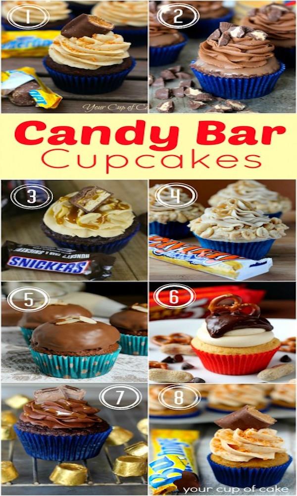 candy-bar-cupcakes