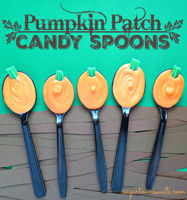 candy spoons pumpkin