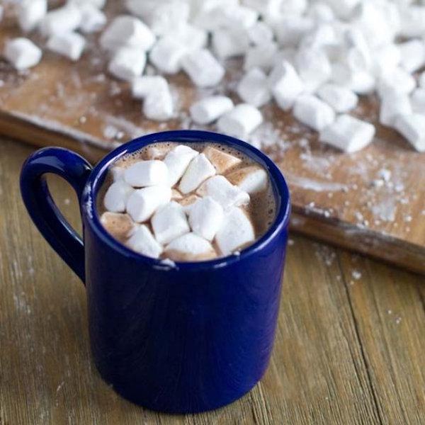 homemade mini marshmallows