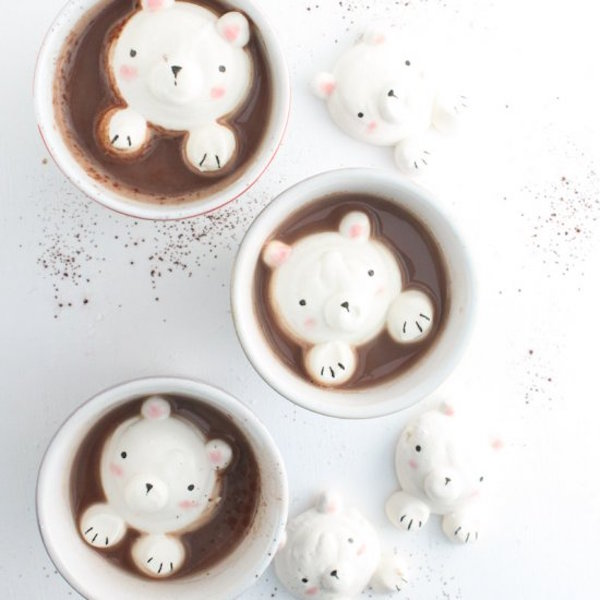 cute bear marshmallows