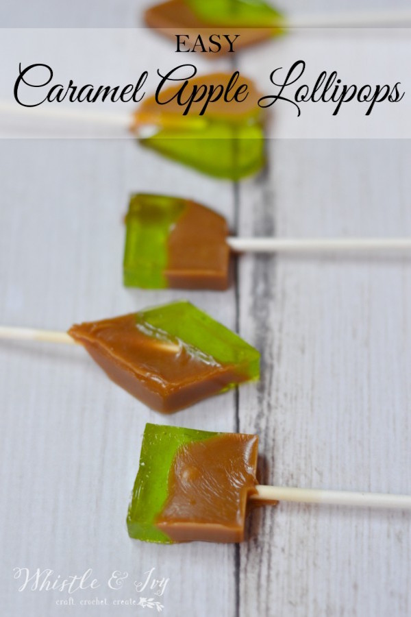 easycaramelapplelollipops
