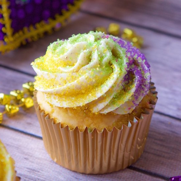 Gumbo Mardi Gras Cupcakes Now Exist Recipe — Dishmaps