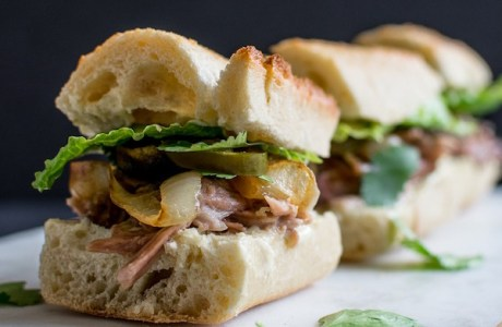 Caribbean Pork Roast Slider