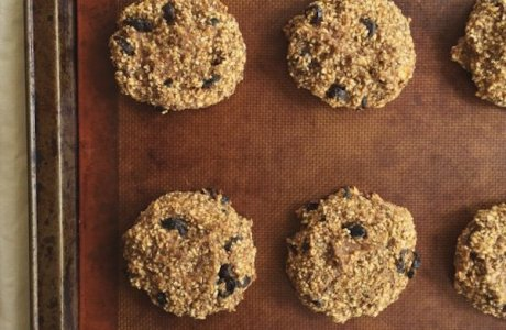 Banana Cranberry Breakfast Cookies