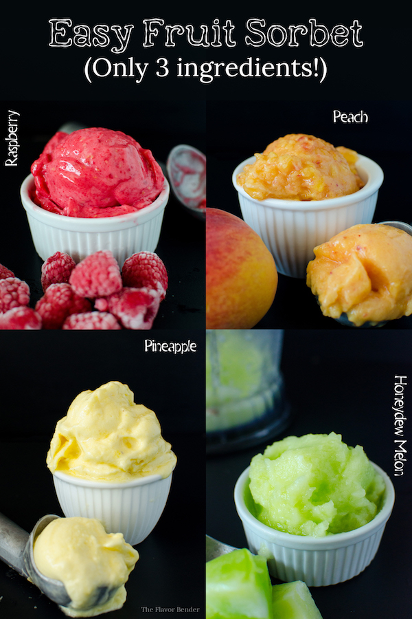 easy fruit sorbets
