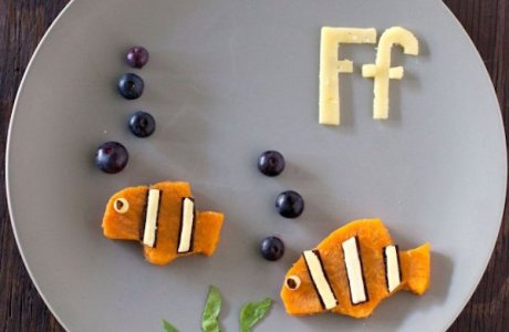 Healthy Toddler Snack – F is for Fish