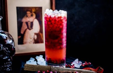 Historical Figures Halloween Cocktails