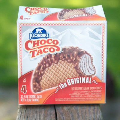 I'm sorry, a 'Choco Taco'?