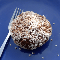 Chocolate ball, super-sized