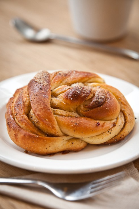 The famous Peter's Yard Cardamom Bun